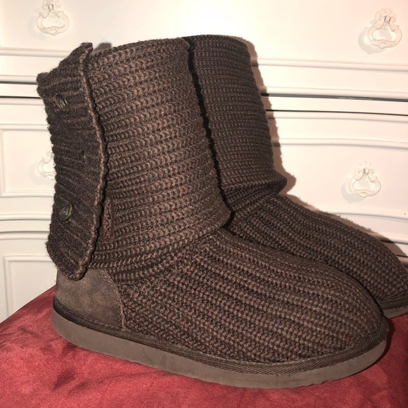 Ugg Shoes Authentic Knit Australia Boots Poshmark
